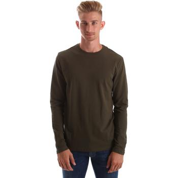 Oblačila Moški Majice z dolgimi rokavi Gas 300187 Zelena