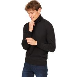 Oblačila Moški Puloverji Gas 561951 Črna