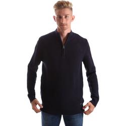 Oblačila Moški Puloverji Gas 561974 Modra