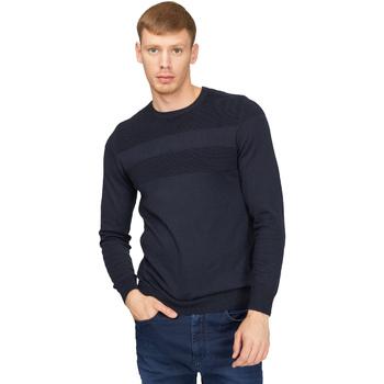 Oblačila Moški Puloverji Gas 561990 Modra