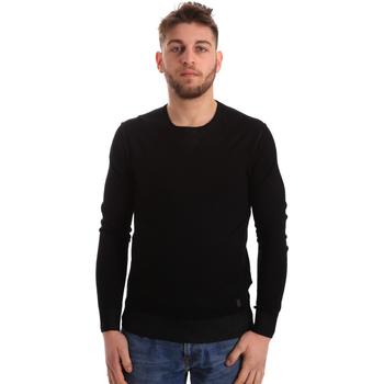 Oblačila Moški Puloverji Gaudi 821BU53036 Črna