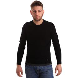 Oblačila Moški Puloverji Gaudi 821BU53043 Črna