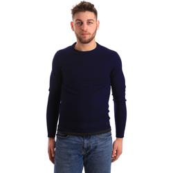 Oblačila Moški Puloverji Gaudi 821BU53043 Modra