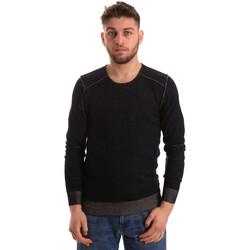 Oblačila Moški Puloverji Gaudi 821FU53008 Črna