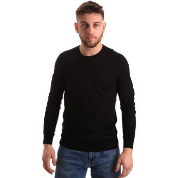 Oblačila Moški Puloverji Gaudi 821FU53080 Črna