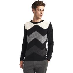 Oblačila Moški Puloverji Gaudi 821FU53085 Črna