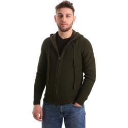 Oblačila Moški Telovniki & Jope U.S Polo Assn. 50519 52229 Zelena