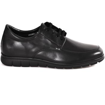 Čevlji  Moški Čevlji Derby Soldini 20583 P Črna