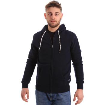 Oblačila Moški Puloverji Key Up 2F01I 0001 Modra