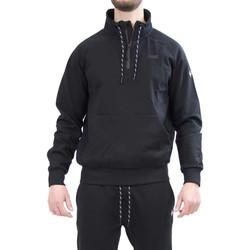 Oblačila Moški Puloverji Key Up 2VG58 0001 Črna