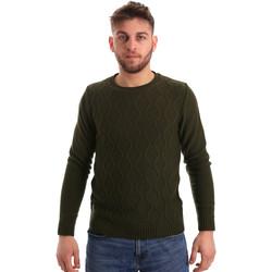 Oblačila Moški Puloverji Bradano 155 Zelena