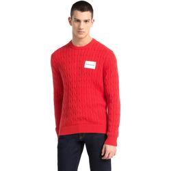 Oblačila Moški Puloverji Calvin Klein Jeans J30J307800 Rdeča