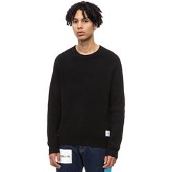 Oblačila Moški Puloverji Calvin Klein Jeans J30J309547 Črna