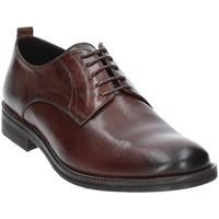 Čevlji  Moški Čevlji Derby Exton 9553 Rjav