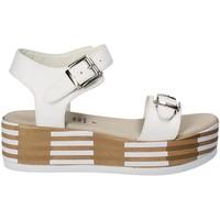 Čevlji  Ženske Sandali & Odprti čevlji Grace Shoes 56423 Biely