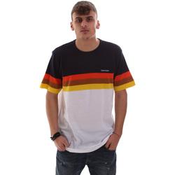 Oblačila Moški Majice s kratkimi rokavi Calvin Klein Jeans K10K104375 Biely