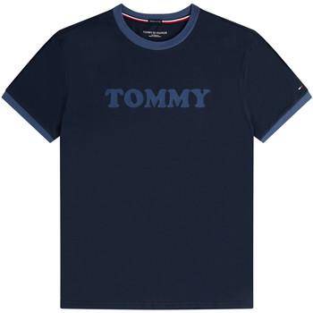 Oblačila Moški Majice s kratkimi rokavi Tommy Hilfiger UM0UM01620 Modra