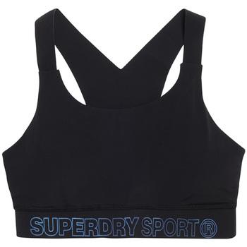 Oblačila Ženske Športni nedrčki Superdry GS3009AR Črna