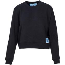 Oblačila Ženske Puloverji Calvin Klein Jeans J20J208047 Črna
