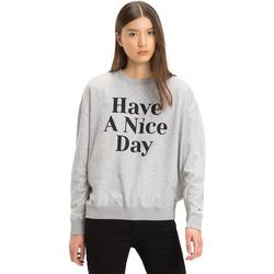 Oblačila Ženske Puloverji Tommy Hilfiger DW0DW04926 Siva