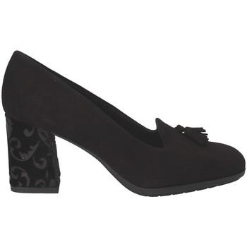 Čevlji  Ženske Mokasini Grunland SC4072 Črna