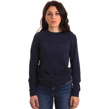 Oblačila Ženske Puloverji Ea7 Emporio Armani 6ZTM84 TJ31Z Modra