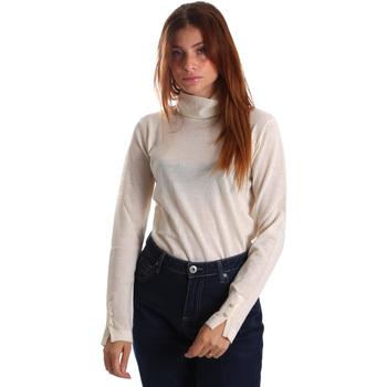 Oblačila Ženske Puloverji Gas 566589 Biely