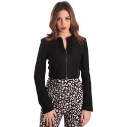 Oblačila Ženske Jakne & Blazerji Gaudi 821FD35003 Črna