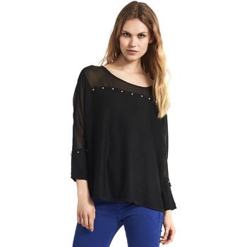 Oblačila Ženske Puloverji Gaudi 821FD53027 Črna