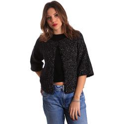 Oblačila Ženske Telovniki & Jope Gaudi 821FD53044 Črna