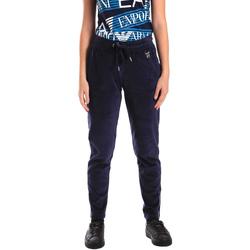 Oblačila Ženske Spodnji deli trenirke  Ea7 Emporio Armani 6ZTP87 TJN9Z Modra