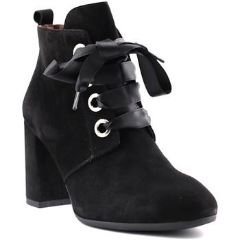 Čevlji  Ženske Gležnjarji NeroGiardini A806923DE Črna