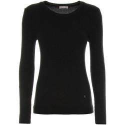 Oblačila Ženske Puloverji NeroGiardini A864350D Črna