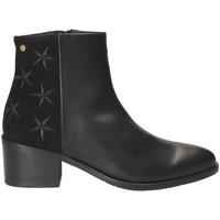 Čevlji  Ženske Gležnjarji Tommy Hilfiger FW0FW03589 Črna