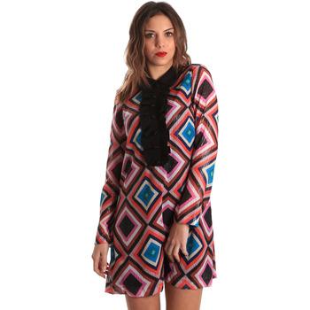 Oblačila Ženske Kratke obleke Denny Rose 821DD10026 Črna