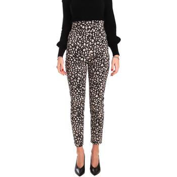 Oblačila Ženske Lahkotne hlače & Harem hlače Denny Rose 821DD20012 Črna