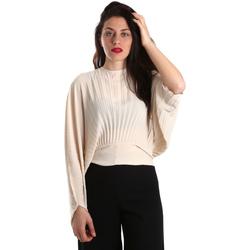 Oblačila Ženske Topi & Bluze Denny Rose 821DD40001 Bež