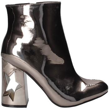 Čevlji  Ženske Gležnjarji Gold&gold B18 GM31 Siva