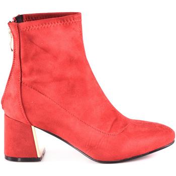 Čevlji  Ženske Gležnjarji Gold&gold B18 GY07 Rdeča