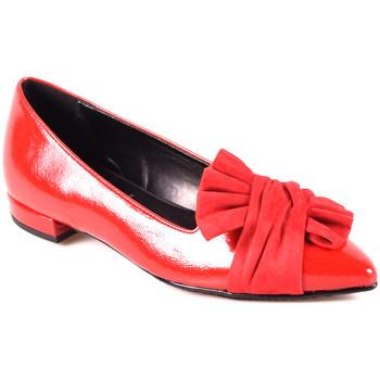 Čevlji  Ženske Balerinke Grace Shoes 2216 Rdeča