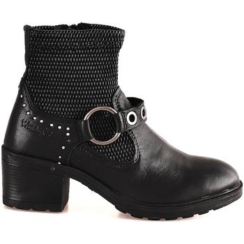 Čevlji  Ženske Gležnjarji Wrangler WL182550 Črna