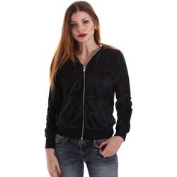 Oblačila Ženske Puloverji Key Up 5CS57 0001 Črna