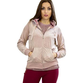 Oblačila Ženske Puloverji Key Up 5CS57 0001 Roza