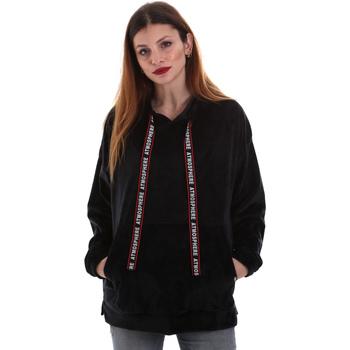 Oblačila Ženske Puloverji Key Up 5CS91 0001 Črna