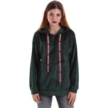 Oblačila Ženske Puloverji Key Up 5CS91 0001 Zelena