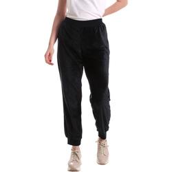 Oblačila Ženske Lahkotne hlače & Harem hlače Key Up 5CS55 0001 Modra