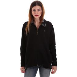 Oblačila Ženske Puloverji Key Up 5FI46 0001 Črna