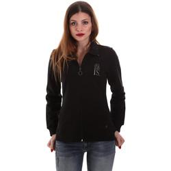 Oblačila Ženske Puloverji Key Up 5EG20 0001 Črna