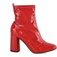 Čevlji  Ženske Gležnjarji Gold&gold B18 GM29 Rdeča
