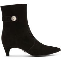 Čevlji  Ženske Gležnjarji Carmens Padova A42191 Črna